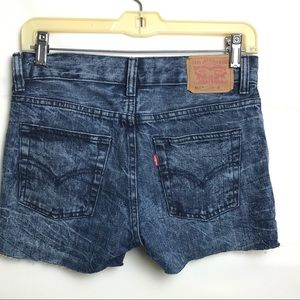 Lev's 511 Slim Upcycled Distressed Shorts